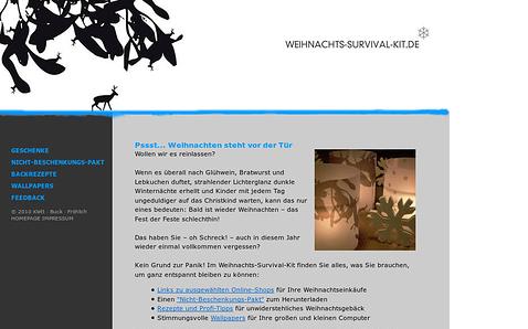 Referenzprojekt: Weihnachts-Survival-Kit