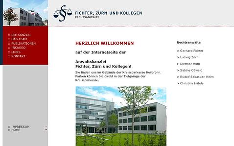 Referenzprojekt: Kanzlei Heilbronn