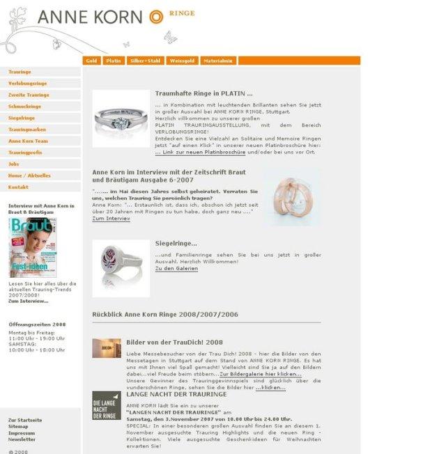 Referenzprojekt: Anne Korn Ringe