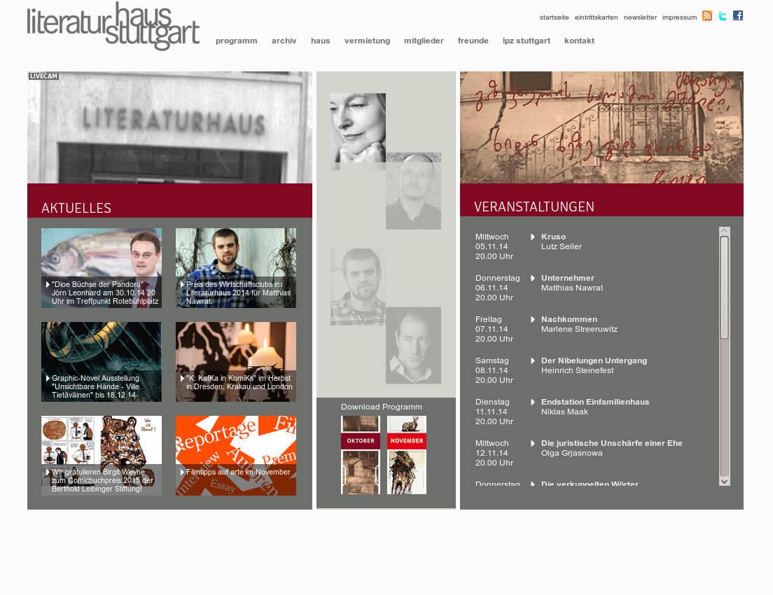 Referenzprojekt: Literaturhaus Stuttgart