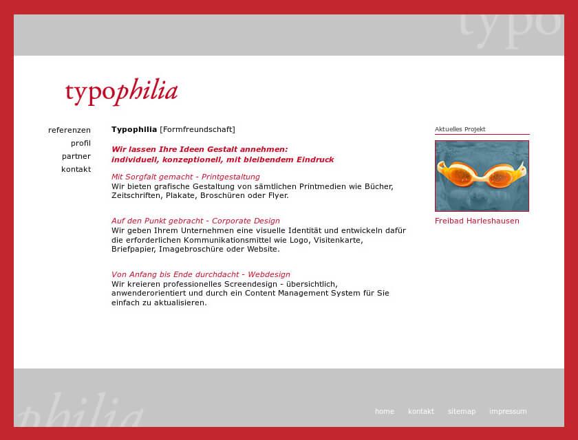 Referenzprojekt: Typophilia