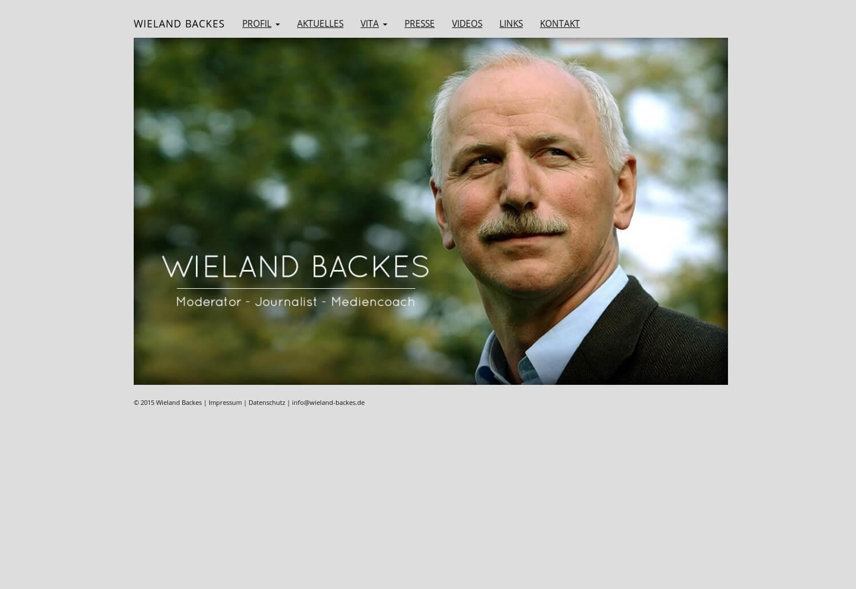Referenzprojekt: Wieland Backes